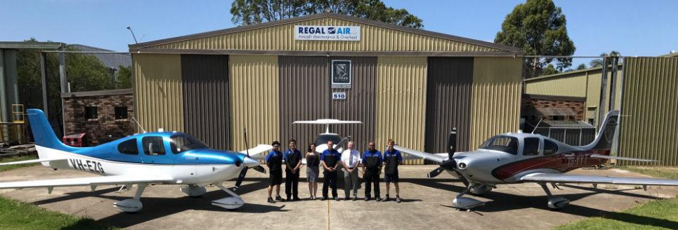 RegalAir Staff Photo - Slider